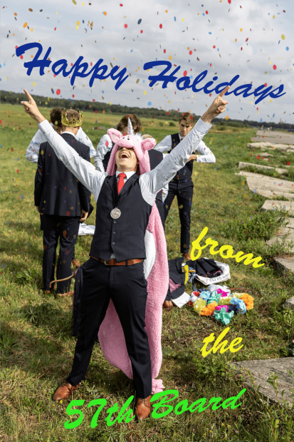 Happy Holidays from the 57th Board!