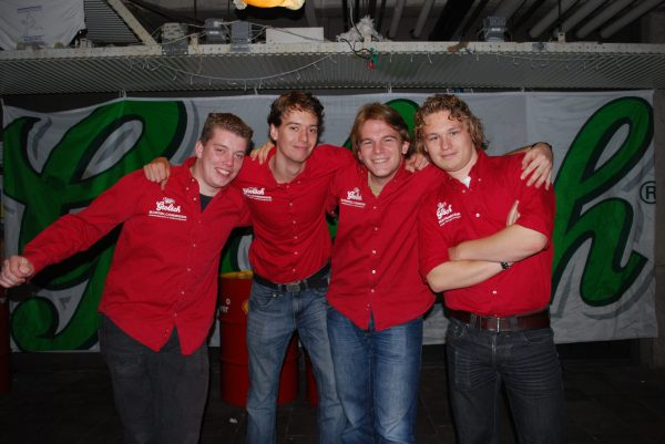 2nd Borrelbestuur (2008-2009)
